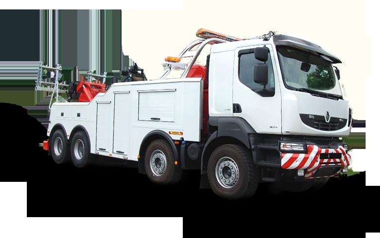 Эвакуатор для грузового автомобиля